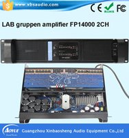 audio power capacitor - High Quality Professional High Power Audio channels Amplifier Lab gruppen FP10000Q blue board HiFi amplifier with uf Siemens capacitors