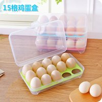 Wholesale 2016 Storage Box Makeup Organizer Organizer Fridge Box Portable Picnic Storage Plastic Grids Factory
