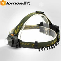best headlamp running - Lomon w AAA Plastic Induction High Power Led HeadLamp Best Cree Head Torch Rechargeable Running Waterproof Lumen Headlamp