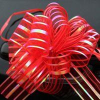 10pcs / lot Emballage cadeau Pull Bow rubans Emballage cadeau de fête de mariage Décoration Pullbows