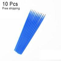 Wholesale 10Pcs Nylon Brush Painting Pen Hand painted Thin Hook Line Pen Drawing cm Art Pen Oil Watercolor