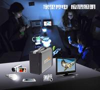 battery off grid - Solar backup power kit5V v V V w panel Off Grid led iphone USB battery System W