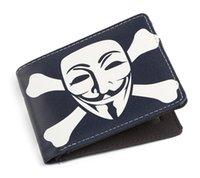bags for guys - 2016 V for Vendetta Anonymous Guy Fawkes Mask Unisex Wallet Short Wallet Card Holder Bag Have Stock In UK
