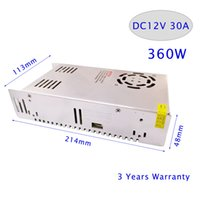 ac dc case - LED Strip DC V A W Switching Power Supply Light Display AC LED PSUs Metal Case W Etc
