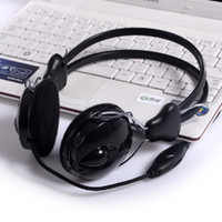best dj speakers - Computer Headphone With Speaker And Volume DJ Fashionable Black Best Stereo Headphones For Music Comfortable Headphones