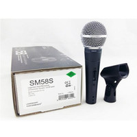 Wholesale New Packing New Label High quality SM S SK Clear Sound Handheld Wired Karaoke Microphone Mic