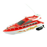 Wholesale New Fashion Powerful Plastic Remote Control Boats Speed Electric Toys Model Ship Sailing Children Game Kids Ship SEP