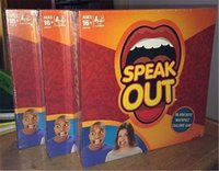 Wholesale DHL New Family Party Speak Out Game Hot Family Catch Phrase Board Game Interesting KTV Toys Games