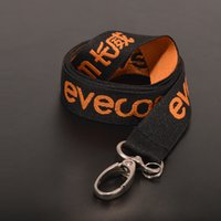 Wholesale Hot sale Lanyards custom design fashion logo printing Polyester Neck strap nylon mm with