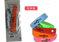 Wholesale HOT Green Luck Mosquito Repellent Band Bracelets Anti Mosquito Pure Natural Baby Wristband Hand Ring IN STOCK