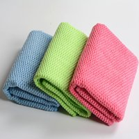Wholesale wholesalemicrofiber nano towel car kitchen floor cleaning cloth dish washing cloth Scouring Pad size x40cm