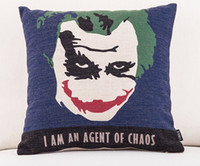best movie covers - I AM AN AGENT OF CHAOS Classic memory pillow massager decorative movie pillows euro cover case home decor kids best gift enhance