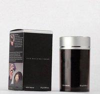 Wholesale 200pcs DHL free Natural Hair Building Fibers Hair Loss Products Natural Keratin Hair Loss Concealer