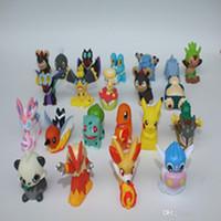 Wholesale Minifigure PokéMon Go PVC Figures cm Pocket Monster Toys Mix Styles Poke Mon Go Action Anime Figure Doll Toys For Kids