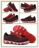 Wholesale Cheap Popular K running shoes Fashion men s Sneakers Walking Boots Sports Tailwind Dark red with black Athletic Max Shoes