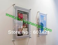 Wholesale Pack units Custom A1 Wall Mounted Acrylic Floating Frames Acrylic Framed Prints for Artists and Photgraphers