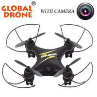 Wholesale Global Drone GW009C CH Drone With Camera Quadcopter Dron RC Helicopter Drones With Camera HD Quadrocopter Mini Drone VS CX