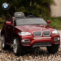 battery powered ride - BMW X6 V Ride On Kids Electric Powered Wheels Car RC Remote Red