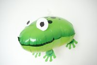balloon animal frog - Frog Helium Pet Walking Balloon Baby Shower Animal Foil Balloon Party Birthday Wedding Decorations