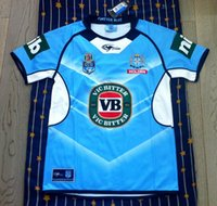 Wholesale NRL National Rugby League Queensland Maroons Rugby Rugby jerseyNSWRL Holden blue