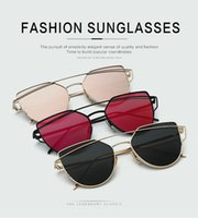 aviator mirror sunglasses - Fashion Sunglasses for men women colors sunglasses mental cat eye aviators sunglasses brands UV sunglasses retro sunglass CA1464