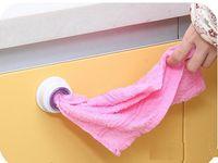 Wholesale Free DHL Wash Cloth Clip Holder Clip Dishclout Storage Rack Towel Clips Hooks Bath Room Storage Hand Towel Rack