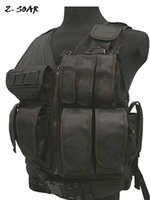 airsoft army vest - Meshed D polyester tactical vest Airsoft Vest Army Vest bulletproof vest Black