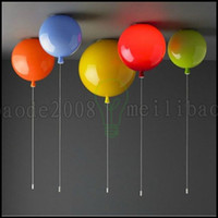 balloons ceiling - New Modern Colorful Balloon Light Ceiling Lamp Kids Lights for Child s Room LLWA231