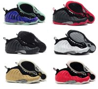 Cheap Air Penny Hardaway Foamposites One Men Basketball Shoes Foamposite Pro Galaxry Original Quality Running Shoes Size 41-47