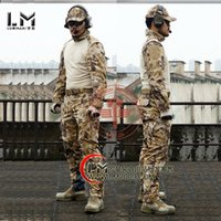 Cheap Wholesale-Woodland hunting clothing airsoft camouflage suit military unfirom paintball equipment military clothing combat shirt uniform
