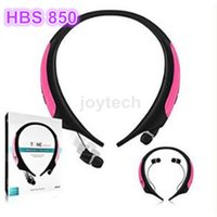 Wholesale AAA quality Sport Tone Active wireless stereo headset HBS Bluetooth Headphone HBS850 earphone For LG e Samsung HTC Huawei