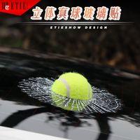 automotive custom - Hot D stereo football basketball tennis baseball tennis crazy car glass automotive supplies car custom labeling