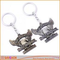 keyring - Motorcycle Key Chain Keychain High Quality Keyring Key ring Brass Silver Plated Keychains For Harley Davidson