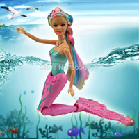 bath toys mermaid - Baby Toys Swimming doll Moxie Girls Magic Swim Mermaid Doll Kids toys cm anime classic toys New Toys for bath dolls for girls
