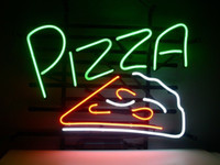 beer pizza - New Pizza Real Glass Neon Light Sign Home Beer Bar Pub Shop Open Sign