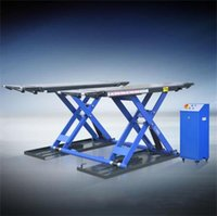 automobile lifts - Hot Sale T Mobile Scissor Lift Hydraulic Automobile Lift Mid rise Scissor Lift Price with Electric Lock