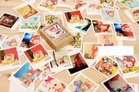 Wholesale 40pcs Cassette Lomo Mini Cards Happy Life Style Cartoon DIY Cards Gift Cards Blank Postcard Greeting Card for Friends