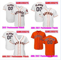 9e0ad017b Baseball Unisex Short Customized Houston astros jersey baseball jerseys  world series Houston Astros Carlos Correa Ken