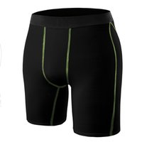 Wholesale Fitness Pants Double Drainage Line Men Gym Training Running Sport Sweat absorbent Short
