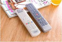 Etanche Stockage Silicone Sacs TV Remote Contrôle de la poussière Cover Holder protection Organizer accessoire transparent