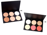 Wholesale Professional Colors Contour Blusher Face Powder Palette Contouring Makeup Cosmetic Blush Palette