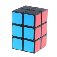 Wholesale Brand New x2x3 Cube Twist Tower Shaped Magic Cube Black Educational Toy Special Toys