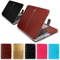 Wholesale Fashion PU Leather Laptop Case For Apple Macbook Pro Air Retina inch Ultrabook Notebook Cover bag for Mac book