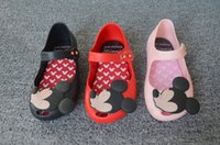 animal footwear - Mickey Minnie Sandal Shoes Kids Sandals Childrens Shoes Boys Girls Jelly Sandals Summer Sandals Kids Footwear Children Sandals