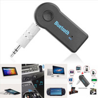 audio ipad - Universal Bluetooth Car Kit mm Streaming A2DP Wireless AUX Audio Music Receiver Adapter Handsfree with Mic For Phone MP3 iPAD
