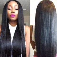 Wholesale Long silky straight glueless Full Lace wigs Front Lace wig unprocessed brazilian human hair wigs