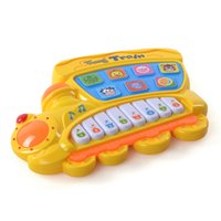 Wholesale Multifunction fancy baby infant children toy animal farm music toy piano keyboard