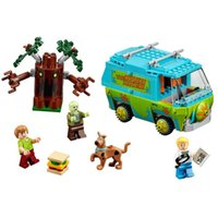 Wholesale BELA Scooby Doo The Mystery Machine Building Block Model Kits Scooby Doo Marvel Minifigures Toys Compatible