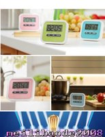 alarm magnets - 7026 Christmas Gift Digital Kitchen Count Down Up LCD display Timer clock Alarm with magnet stand clip MYY
