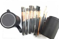Wholesale 2016 New A Makeup Brush Professional set with Leather Barrel High Quality